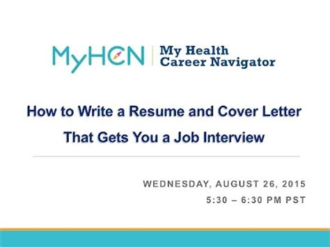 Make a cover letter